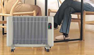 【3年保証付き】遠赤外線パネルヒーター《夢暖望 660型H》触ってもやけどしない。部屋の空気を汚さず、乾燥対策もばっちり。日向ぼっこをしているような暖かさ