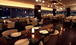 初登場。神戸の美しい夜景と旬の味覚をいただく「和ふれんち」フルコース≪ディナー / スープ・魚&肉料理など全7品+スパークリング含むワイン3杯≫平日限定 @ホテルプラザ神戸 レストラン スマイリーネプチューン