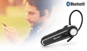Bluetooth(R)で音楽、ワンセグ、通話ができるワイヤレスのイヤホンマイク。ステレオ再生イヤホン付属で、音楽をステレオサウンドで楽しめる《Bluetooth イヤホンマイク ステレオ BL-75》