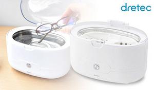 メガネやアクセサリー、入れ歯にも使用可能。手入れしにくい細かなパーツも超音波の力でキレイに洗浄《超音波洗浄器「ソニクリア」 UC-500WT》