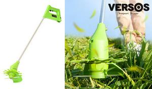 お庭の手入れもこれ1台でラクラク。コードレスタイプで、場所を選ばず使える便利アイテム《コードレス草刈り機 -軽刈った- ライトグリーン VS-GE02》