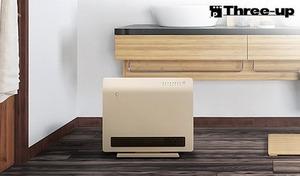 【53%OFF/2色展開】手軽に電源操作ができる、人感センサー搭載。脱衣所やトイレなどのスポット暖房に活躍する、床置き・壁掛けの2WAY仕様《人感センサー付 ミニパネルセラミックヒーター CH-T1835》