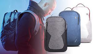 【3色展開】スタイリッシュなデザインでありながら機能的。ビジネスシーンからプライベートまで活躍する、モバイルバックパック《STM myth pack 28L》