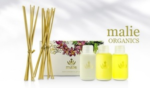【3種セット】ハワイのスパブランド発。オーガニックオイルのピュアな香りが広がる、人気のアロマディフーザー《マリエオーガニクス アイランドアンビアンスリードディフューザーコフレ》
