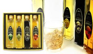 ノンアルコールでシーンを選ばず楽しめる《大人の贅沢果汁セット 200mL×4種》濃くもさわやかな風味です