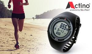 【GPS】ラップタイムや走行ペース、消費カロリーなども表示できランニングの楽しみが広がる。シンプルで使い勝手の良いランニングウォッチ《GPS Running Watch WT100》