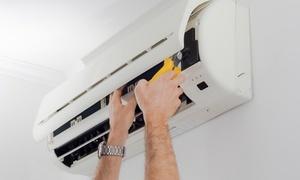 【最大66%OFF】エアコン内部のカビやホコリを徹底クリーニング。節電対策にも≪エアコンクリーニング(壁付け家庭用)/ 1台分 or 2台分≫ @住まいるホーム