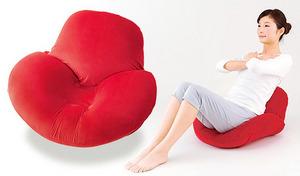 【送料込み】リラックスしながら簡単エクササイズ。骨盤周りをケアし、腹筋運動で体にかかる負担を軽減。美しいヒップラインと引き締まったお腹を目指せる座椅子《骨盤&腹筋座椅子》
