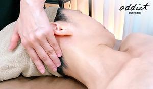 【エイジングケア専門サロン/贅沢フェイシャル】たるんだ肌をしっかりリフトアップ《デコルテ&フェイシャルマッサージ+ピュアパルス+パック/90分》美容成分の導入、筋肉運動、肌細胞の活性化で肌悩みをケア