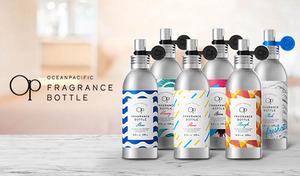 【選べる6つの香り】ボディにも空間にも使える香りのミスト。遮光性と耐久性を兼ね備えた軽量アルミボトル採用しアウトドアシーンや持ち運びに最適《オーシャンパシフィック フレグランスボトル 125mL》