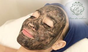 """【いちご鼻の救世主/カーボンフェイシャル/完全個室】いちご鼻、肌のざらつきは「炭」のパワーで撃退。光が真っ黒な色素に反応して細胞を元気にし、内側から""""つるん""""と輝く美肌に導く《カーボンフェイシャル90分》"""