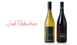 フランス三ツ星レストランの巨匠 ジョエル・ロブション氏発《ジョエル・ロブション コレクション 紅白2本セット》若き天才醸造家 カロリーヌ・フレイ氏とコラボレートした、至高のワインセット