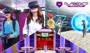 【54%OFF/VR遊び放題&食べ飲み放題】10種類のVRで仲間とワイワイ&飲んで食べて楽しめるVRカフェバー。ゲーム初心者でも簡単にプレイできるVRが大集合《食べ放題・飲み放題・VR遊び放題/120分》