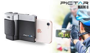装着+アプリ連携で手持ちのiPhoneがデジタルカメラに変身。一眼レフカメラのような操作が可能になるハーフケース型のカメラグリップ《Pictar OnePlus Mark II-SmartPhone》