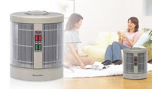 【日本製/3年保証付き】ひなたぼっこをしているような暖かさ《暖話室1000型H》360度・全方向を暖める、遠赤外線パネルヒーター。約6~9畳の部屋に最適