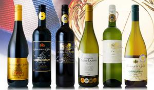 【送料込み】さまざまなコンクールで金賞受賞した実力派の赤・白ワインセット。記憶に残るような心地よいワインの余韻を楽しめる《ゴールドメダル合計10個/オールフランス赤・白6本セット》