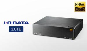 ハイレゾ音源・CD音源どちらにも対応し、3TBを搭載した「オーディオ用NAS」。取り込み・再生・データ保護をワンストップで提供《ハードディスク搭載ネットワークオーディオサーバー HDL-RA3HG》