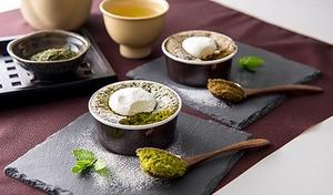 【送料込み】日本茶ブランド「八女茶」の香り高い風味が際立つ、上品なガトーショコラ。和と洋の素材による絶妙なマリアージュ《農薬不使用八女茶 いりえ茶園  ガトーショコラセット》
