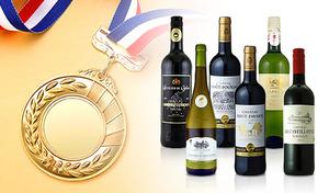 【6本セット】すべて金賞受賞のワイン《フランス金賞赤白ワイン 750mL×6本》ご自宅だけでなくパーティーの差し入れにもぴったり。フランスの名産地から届く、至福の味わい