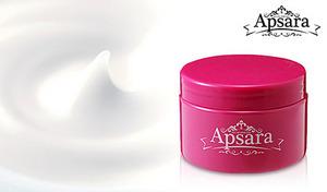 【63%OFF/大容量290g】プラセンタ・ヒアルロン酸・コラーゲンをたっぷりと配合。乾燥した肌にみずみずしいうるおいを与える《アプサラ オールインワンゲル 290g》