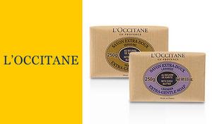 【選べる2種】《ロクシタン シアソープ 250g》シアバター20%配合で保湿力抜群。リッチな泡で肌のうるおいを残しながらさっぱりと洗い上げます。優しい香りに包まれて心も体もリラックス