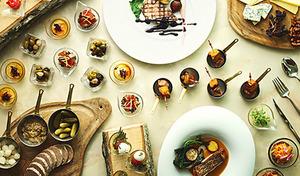 【サラダバー付きランチビュッフェ/セリーズ】「グリル&鎌倉野菜」をテーマ。「いちごスイーツビュッフェ」から選りすぐったデザートも《シェフズ・フェイバリッツ+スパークリングワイン》【月~金(祝日除く)限定】