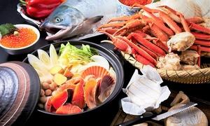 待望の再登場。この時期限定のいくらや蟹等北海幸祭りブッフェを堪能 ≪ ランチ90分 or ディナー120分 ≫ @ホテル日航大阪 カフェレストラン セリーナ