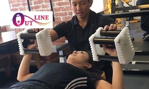 67%OFF パーソナルトレーニング75分×4回+入会金/12時~18時限定|女性限定|OUT LINE 3店舗