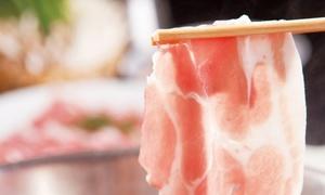 豚・鶏しゃぶしゃぶ食べ放題(フードコーナー含む)+飲み放題120分|24枚迄利用可|京都 高木屋|京都市河原町駅