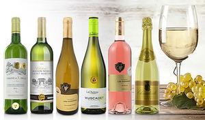 【57%OFF/送料込み】すっきりとした飲み口のワイン。さまざまな料理に合わせやすくデイリーワインにぴったり《金賞受賞ワイン入り フランス「普段飲みで軽快な」白・ロゼ・泡よりどり6本セット》