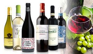 【送料込み】ヨーロッパ・ワイン銘譲国を巡る飲み比べ6本セット。奥深い味わいを堪能できる赤ワイン・白ワインが集結《ワイン3大銘譲国・多品種お楽しみ赤白6本セット》