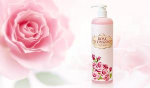 【たっぷり500mL】古い角質がポロポロ取れる。バラの香りが高級感を演出《ピーリングッド(洗い流すピーリングゲル) 500mL》プラセンタ&コラーゲンなどを配合