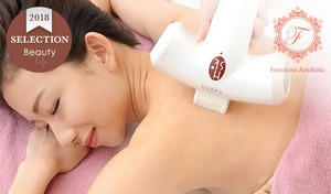 【肌や状況に応じてカスタマイズ/脱毛3回券】肌へのストレスを最小限に抑え脱毛効果が高く肌に優しい先進脱毛機器使用。脱毛初心者や敏感肌の方にもおすすめ《Sパーツ4ヵ所+Lパーツ4ヵ所/3回券》