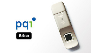 最大10パターンの指紋を登録でき、指をさっと置くだけで認証可能。重要なデータ流出防止のための、手軽にできる強固なセキュリティ《指紋認証USBメモリ 64GB UDUFPSL-64》