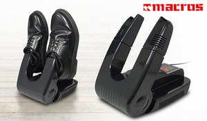 【56%OFF】革靴・スニーカー・ヒール・ブーツなどさまざまな種類の靴に対応。ドライヤー部分が伸縮式で、角度調節もOK《温風式シューズドライヤー MEH-46》