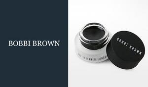 【ウォータープルーフ】なめらかなのびで繊細なラインもきれいに描ける《ボビイブラウン ロングウェア ジェルアイライナー #1 ブラックインク》にじまずよれず、いつまでも美しい目元