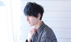 カット+眉カット 男性限定 サンクチュアリー 千里山 吹田市 千里山駅