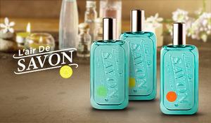 【3種展開】幅広い世代から愛される上質なせっけんの香り《レールデュサボン EDT 50mL》香りカプセル配合で、やさしい香りがふんわり長く続く