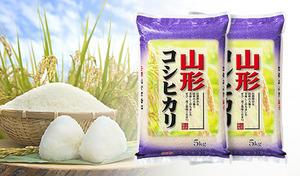 【送料込み】甘み・粘り・光沢をバランスよく併せ持つ人気米を産地直送《平成30年産 山形県産コシヒカリ 10kg(5kg×2袋)》