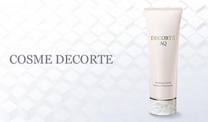 きめ細かい豊かな泡で肌を包み込み、しっとりしなやかな肌へと洗い上げる《コスメデコルテ AQ ウォッシング クリーム 129g》