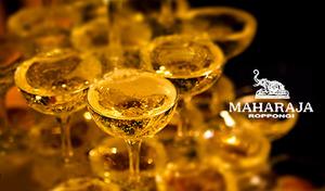 【最大53%OFF】80~90年代に一世を風靡した、伝説のマハラジャが登場。バブリー&ゴージャスな非日常空間で、絢爛華麗な一夜を《VIP PARTY PLAN/フード+120分飲み放題+グラスシャンパン》
