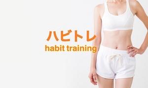 最大65%OFF 来店8回・トレーニング7回 / カウンセリング&カラダチェック+パーソナルトレーニング(食事指導・入会金込)|男女可|ハビトレ~Habit Training~