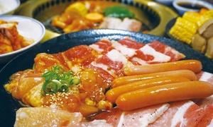 お肉5種盛り+焼肉8種&フードコーナー食べ放題+飲み放題120分|30名まで利用可|京都 高木屋|京都市 河原町駅