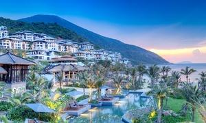 [1室2名分]世界が注目する最上級リゾート「ダナン」≪部屋はクラブインターナショナルルーム/4連泊朝食付≫ @InterContinental Danang Sun Peninsula Resort
