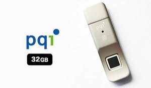 最大10パターンの指紋を登録でき、指をさっと置くだけで認証可能。重要なデータ流出防止のための、手軽にできる強固なセキュリティ対策《指紋認証USBメモリ 32GB UDUFPSL-32》