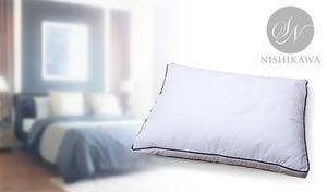【63%OFF】異なったボリュームの高さ調整袋で、枕をお好みの高さに調整可能。しっとり滑らかな肌触りが心地のよい眠りへと導く《昭和西川 ホテルモードDX》