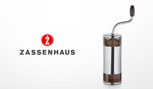 【70%OFF】150年の歴史がつまった手挽きコーヒーミル。職人の手によって生み出された一台で、格別のコーヒーを《ザッセンハウス・ミル リマ》