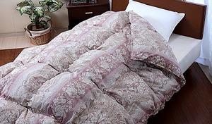 【54%OFF/2色展開】良質なホワイトダックダウンを85%使用した贅沢な寝心地。日本製羽毛ふとんの証、3つ星ランクのニューゴールドラベル認定《ホワイトダックダウン85%羽毛掛け布団 ニューゴールドラベル付き》