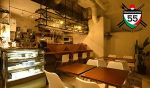 【50%OFF/乾杯ドリンク付き】世界の食を融合したミックスカルチャーをヨーロッパ風お洒落空間で愉しむ《イタリアンベーシックコース+1ドリンク》
