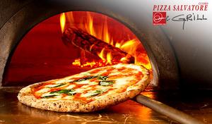 """【サルヴァトーレ クオモ/180分飲み放題】ナポリの職人の手掛けた""""薪窯""""で焼きあげる、芳ばしく風味豊かなピッツァに、旨みたっぷり熟成肉のグリル、さらには180分の飲み放題まで《パーティーメニュー》陽気で賑やかな食空間"""